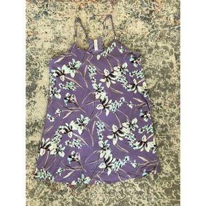 Large Lavender Flower Dress